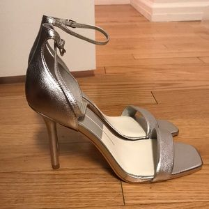 BRAND NEW - Dolce Vita Silver Halo Heels | Size 8